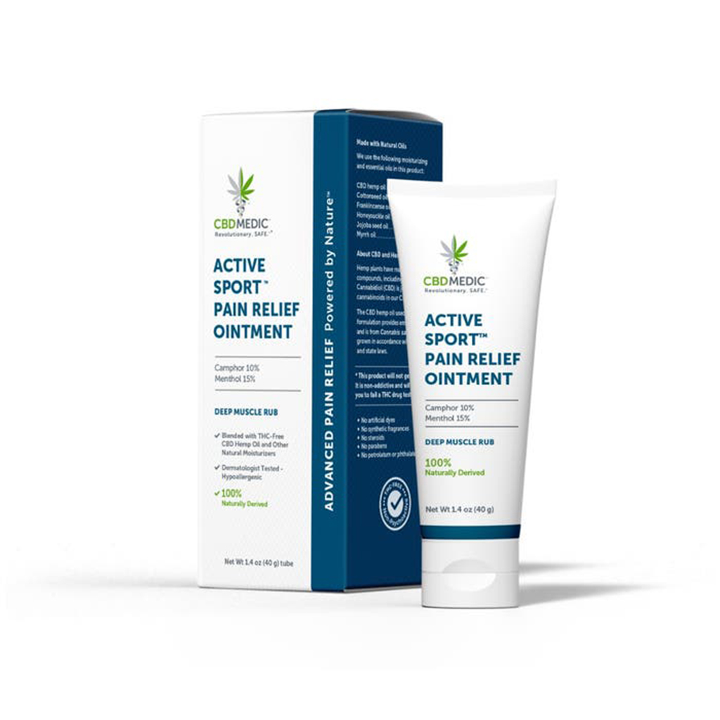CBD Medic Active Sport Pain Relief Ointment