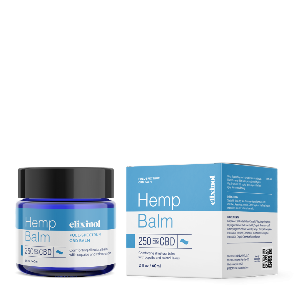 Elixinol Full-Spectrum Hemp Balm: