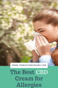 The Best CBD Cream for Allergies