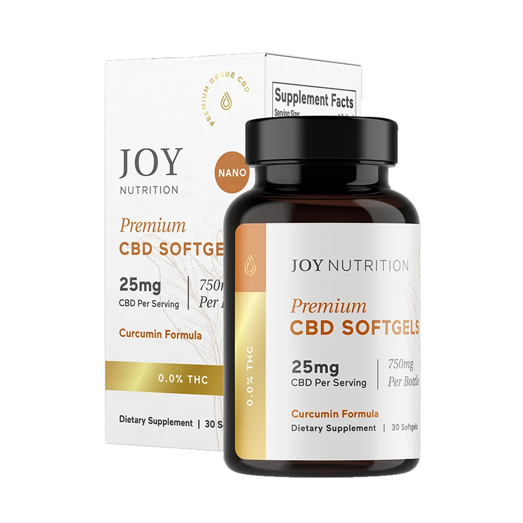 CBD Softgels with Curcumin