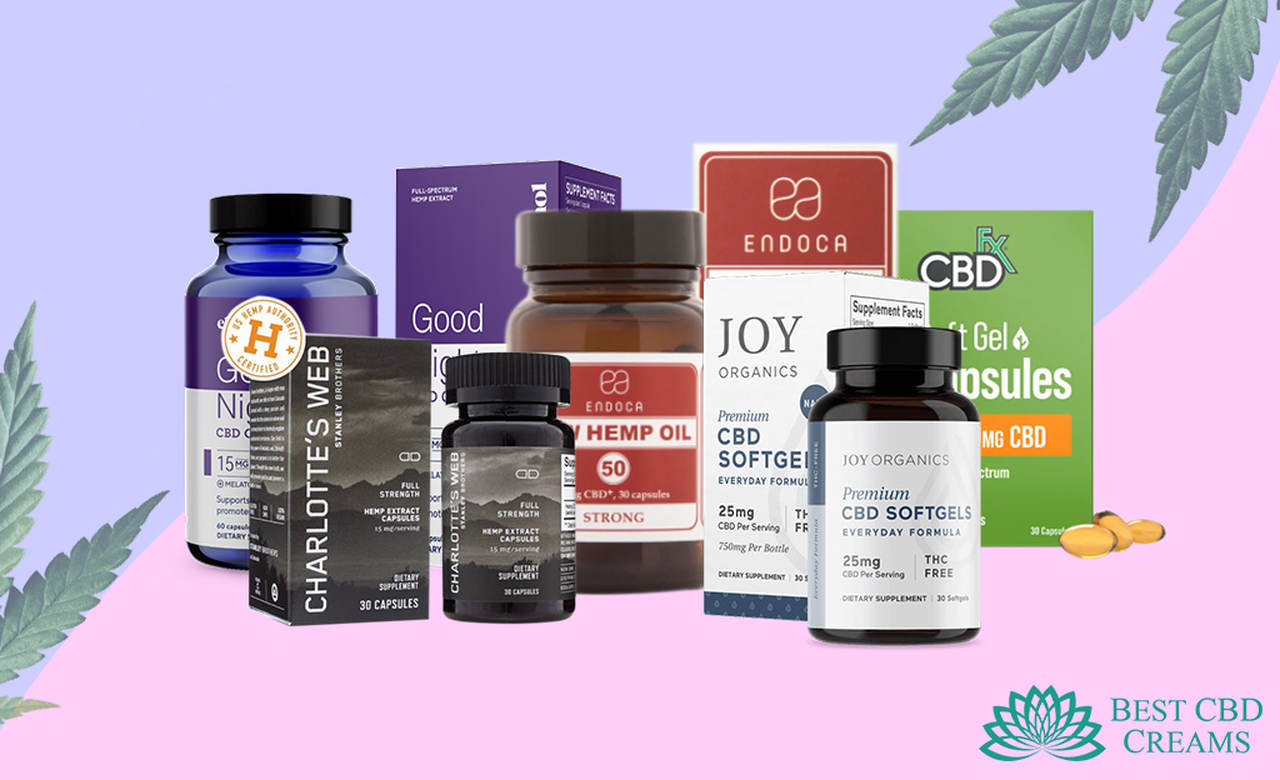 the best cbd capsules