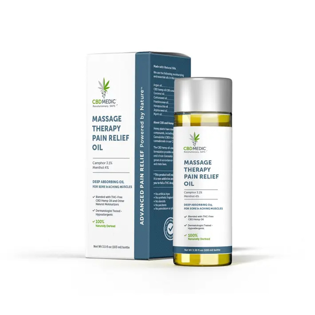 Massage Therapy Pain Relief Oil