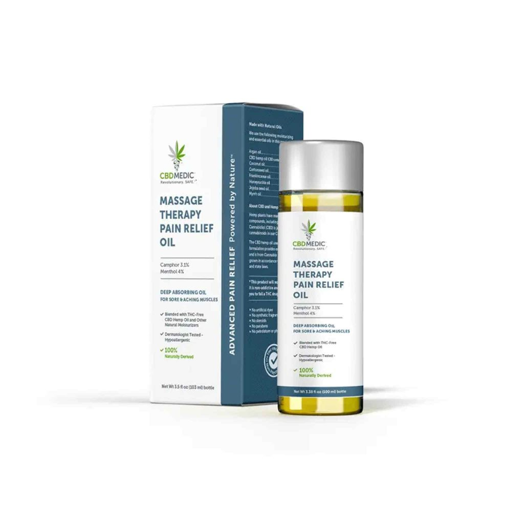 CBD Medic Massage Therapy Pain Relief Oil